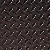 Crown #550 Workers-Delight™ Ultra Deck Plate W/ Zedlan Foam Backing 4'X75' Black