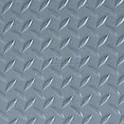 Crown #550 Workers-Delight™ Ultra Deck Plate W/ Zedlan Foam Backing 4'X75' Gray