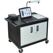 A/V Cart w/ Cabinet - 32x24x27