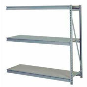 "En vrac de stockage Rack Add-on, niveau 3, solide, platelage, 96"" W x 36 « D x 84 » H gris"