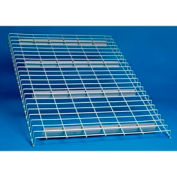 """Wire Decking Panel For Pallet Rack, 58""""Wx48""""D, 2500# Capacity, Gray"""
