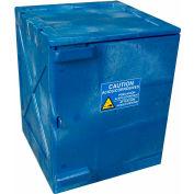 Armoire de rangement à assemblage rapide pour polyacides et produits corrosifs, 4 gallons, fermeture manuelle