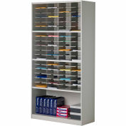 Mayline® Mailflow-To-Go Systems Literature Cabinet - 72 Pockets