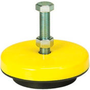 "Neoprene Machinery Leveling Mount - 5""L x 5""W x 1-3/4""H"