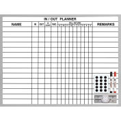 """In/Out Planner, 18""""H x 24""""W"""