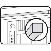"""M-D Air Conditioner Weatherstrip, 50007, Brown, 1/2"""" x 1-3/8"""" x 42"""""""