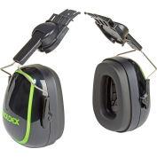 Moldex 6140 MX-7 High Attenuation Cap Mounted Earmuff, NRR 28dB