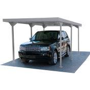 DuraMax Palladium Car Shelter Galvanized steel 10072 18'W x 9-7/16'D x 7-5/8'H