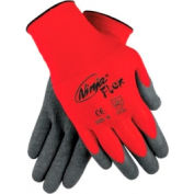 Ninja Flex Latex Coated Palm Gloves, MEMPHIS GLOVE N9680M, 1-Pair