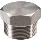 "Ss 316/316l Forged Pipe Fitting 3/8"" Hex Head Plug Npt Male - Pkg Qty 34"