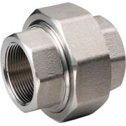 """Ss 316/316l Forged Pipe Fitting 1-1/4"""" Union Npt Female - Pkg Qty 2"""