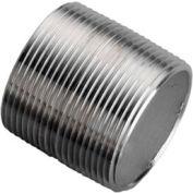 Ss 304/304l Schedule 40 Seamless Pipe Nipple 1/8xclose Npt Male - Pkg Qty 100