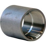 En acier inoxydable 304 de 1 po couplage - FNPT - classe 150-300 PSI - importation