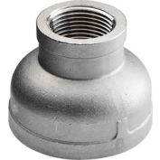 "Iso Ss 304 Cast Pipe Fitting Reducing Coupling 1/2"" X 1/8"" Npt Female - Pkg Qty 75"