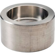 "Ss 304/304l Forged Pipe Fitting 1-1/2"" Cap Socket Weld - Pkg Qty 7"