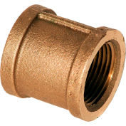 1-1/2 In. Lead Free Brass Coupling - FNPT - 125 PSI - Import