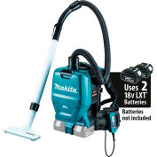 Makita XCV05Z 18V X2 36V Brushless Cordless 1/2 Gal HEPA Filter Backpack Dry Dust Vacuum, Tool Only
