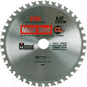 "Circular Saw Blade - 6-1/2"" - 48 TPI - 5/8"" Arbor - USA - M.K. Morse Metal Devil CL CSM6504858CLSSC"