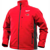 Milwaukee® 201R-202XL M12™ Heated Jacket Only - Red/Gray - 2XL