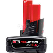 Milwaukee® 48-11-2440 12V Li-Ion M12 Battery 4Ah Extended Capacity