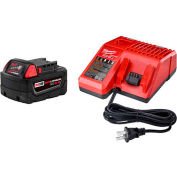 Milwaukee® 48-59-1850 M18™ Redlithium™ XC5.0 Starter Kit