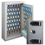 MMF STEELMASTER Heavy Duty 88 clé sécurité armoire 20121088D 01 double commande électronique Combo Lock, gris