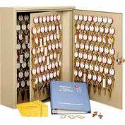 Armoires à460 clés avec serrure à combinaison MMF STEELMASTER® Dupli-Key#174, étiquettes doubles, 2018460C03