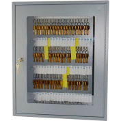 MMF STEELMASTER® Uni-Tag Vue™ 60 clés C-Thru armoire 2019V06001 Disc Tumbler Lock - gris
