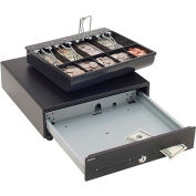 "MMF SteelMaster Touch Release Cash Drawer 2251046T04 Keylock 14"" x 13-1/8"" x 4-1/8"" - 9 Compartments"