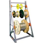 """Des équipements modernes (MECO) - Reel Rack surmeuble - RR4210-A - W 48"""" x 24 «D x 120» H - niveau 4"""
