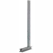 """Un équipement moderne XU1864 Cantilever Rack simple face verticale (3000-5000 Series), 64"""" D x 18' H"""