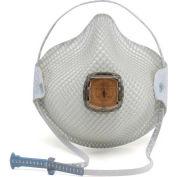 Moldex 2700N95 2700 Series N95 Particulate Respirator, HandyStrap & Ventex Valve, M/L, 10/Box