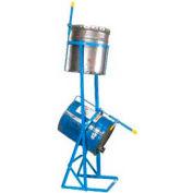 Morse® PailPRO™ Model 2-15 Double 5 Gallon Can Tipper - 75 Lb. per Can Capacity