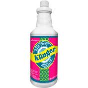 Avmor Klinger épais bleu toilettes & urinoir nettoyeur, 946ml, qté par paquet : 12