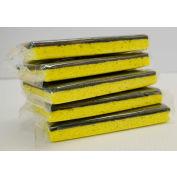Wrapped Scrubbing Sponge Yellow/Green - 8x5