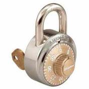 Master Lock® No. 1525EZRCGLD General Security Simple Combination ADA Inspired Padlock - Gold
