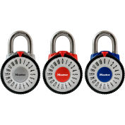 """Master Lock® 1588T Magnification Combination Dial Padlock - 7/8"""" Shackle, Assorted"""