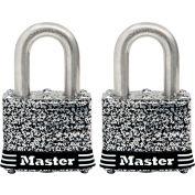 "Master Lock® General Security Laminated Padlock - No. 3SSTHC - 3/4"" Shackle - Pkg Qty 2"