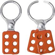 "Master Lock® Aluminum Lockout Hasp, 1-1/2"" Jaw Clearance, 417"