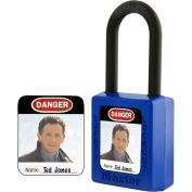 Master Lock® Photo ID Label For S31, S33, 406, and 410 Safety Padlocks, S142