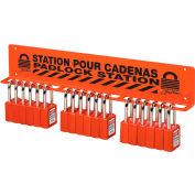 Master Lock® S1518 Large Padlock Wall Rack