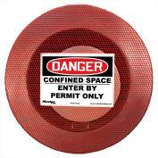 Master Lock® S201CSM Confined Space Cover, Non-Lockable, Medium, Elastic
