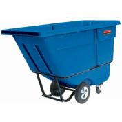 Rubbermaid® 1305-00 Standard Duty 1/2 Cu. Yd. Blue Tilt Truck