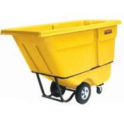Rubbermaid® 1305-00 Standard Duty 1/2 Cu. Yd. Yellow Tilt Truck