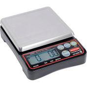 """Rubbermaid® 1812589 Pelouze Digital Scale, 10 lb x 0,1 oz, 5-1/8"""" dia. plate-forme de portionnement"""