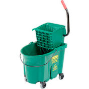 Rubbermaid® 7588-88 WaveBrake® Side Press Mop Bucket & Wringer Combo, Green