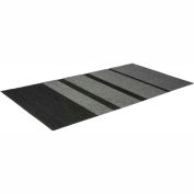 Mat Tech Glacier Entrance Wiper/Scraper Mat 3'x6' - Charcoal/Black