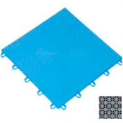 "Mateflex ProGym Multi-Sport Indoor Tile 363350, 12""L X 12""W, Stone Gray"