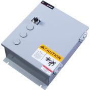 MTI MTI-LP-641A-4-277 Area Light Control Panel, 4P, 277V, Nema 12/3R, Photocell & Timeclock, 1 Zone