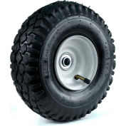 "Martin Wheel 410/350-4 10"" Stud Tread Pneumatic Wheel Assembly 354DC4ST242IP"